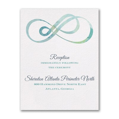 Infinity - Reception Card
