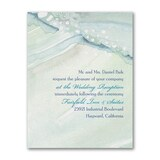Ocean Waves - Reception Card