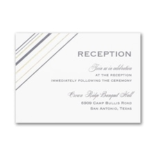 Cutting Edge - Reception Card - White