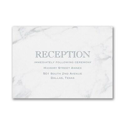 Marble Masterpiece - Reception Card