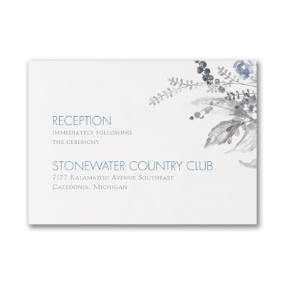 Outdoor Essence - Reception Card