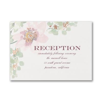 Garden Fresh - Reception Card
