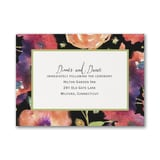 Magical Blooms - Reception Card