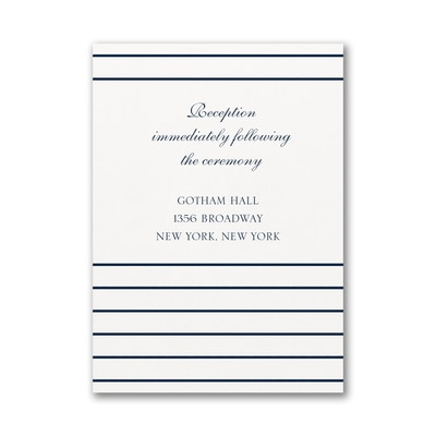 Anchored Love - Reception Card