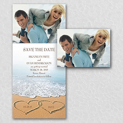 Love the Beach - Photo Save the Date
