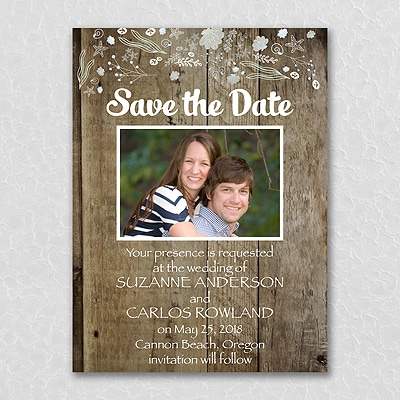 Seaside Delight - Save the Date