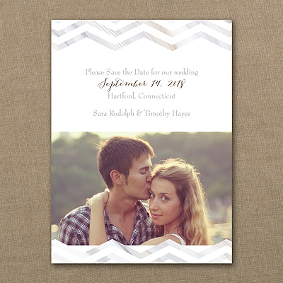 Marbled Chevron - Photo Save the Date