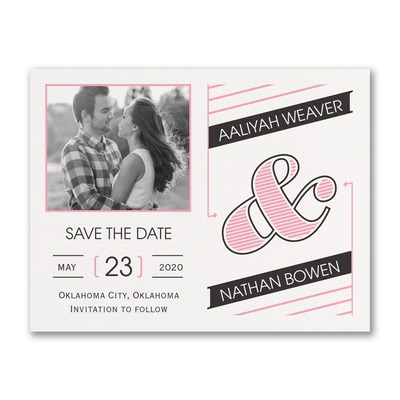 Great Type - Photo Save the Date