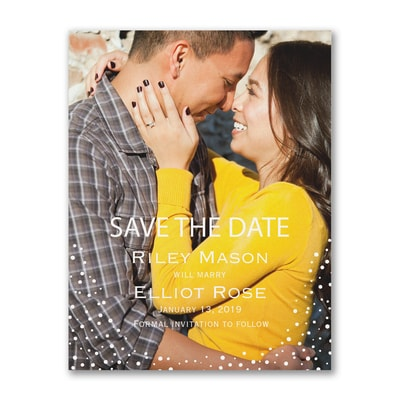 Dotted Day - Photo Save the Date