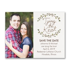 Whimsical Rustic - Photo Save the Date