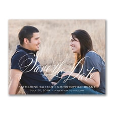 Romance - Photo Save the Date