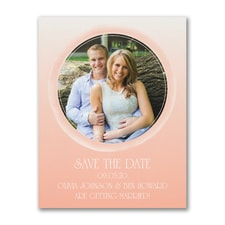 Aquarelle - Photo Save the Date