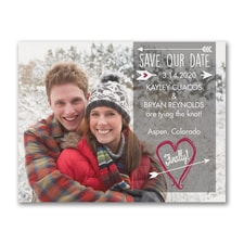 Struck by Love - Photo Save the Date