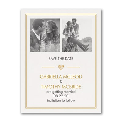 Simple Love - Photo Save the Date