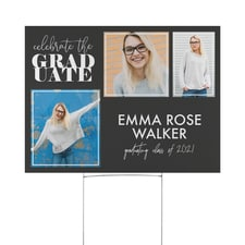 Grad Time Yard Sign
