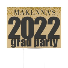 Your Grad Party Yard Sign