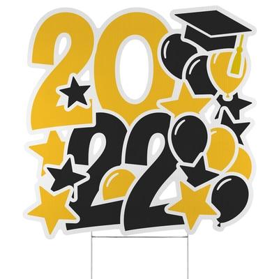Festive Year Yard Sign - 2022