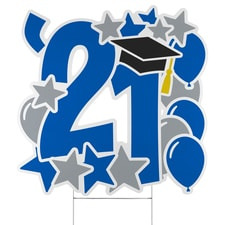 Graduation Feat Yard Sign - 2021