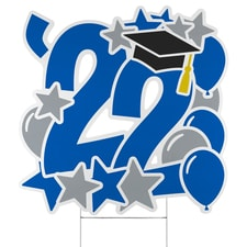 Graduation Feat Yard Sign - 2022