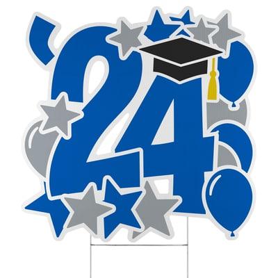 Graduation Feat Yard Sign - 2024