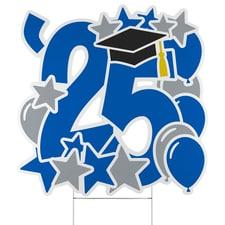 Graduation Feat Yard Sign - 2025