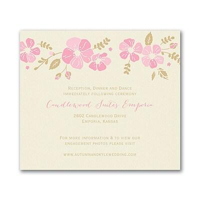 Blooming Pretty - Enclosure Card - Ecru