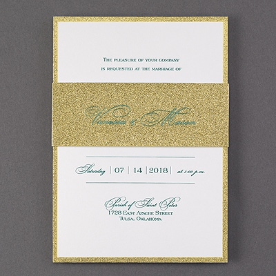Be Dazzled - Invitation - Gold