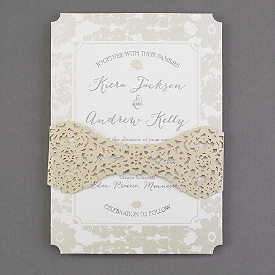 Evelyn's Lace Invitation