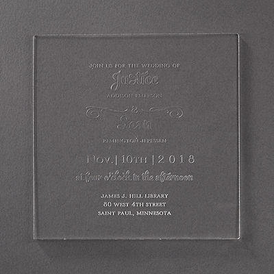 Clearly Whimsical - Invitation