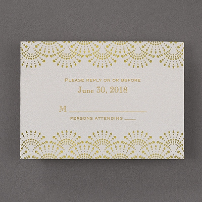 Elegance Shows - Response Card and Envelope