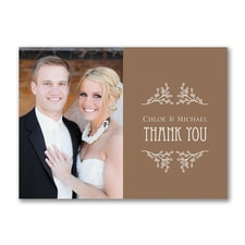 In the Wood - Thank You Postcard