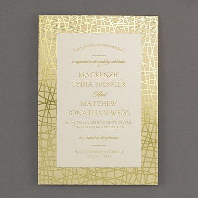 Follow the Pattern - Invitation - Modern