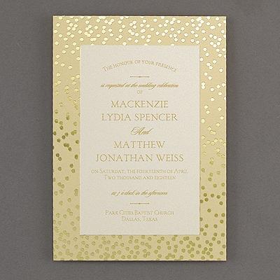 Follow the Pattern - Invitation - Dots