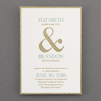 Shine Through Invitation Wedding Invitations Carlson Craft