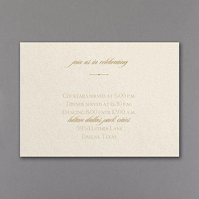 Follow the Pattern - Reception Card