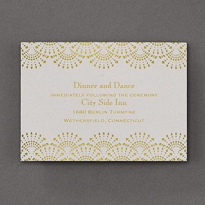 Elegance Shows - Reception Card