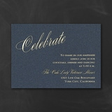 It All Shimmers - Reception Card - Navy Shimmer