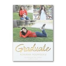 Graduate Greetings - Announcement