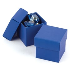 Two-piece Favor Box - Blank - Royal Blue