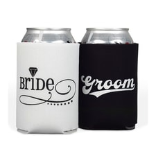 Bride and Groom - Can Coolers