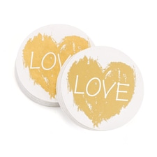Brush of Love - Coasters