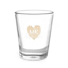 Brush of Love - Mr - Shot Glass