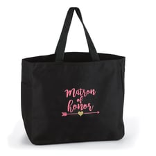 Wedding Party Tribal - Tote Bag - Matron of Honor