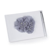 Glamorous Grey - Guest Book and Pen Set