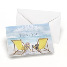 Seaside Jewels - Thank You Card and Envelope