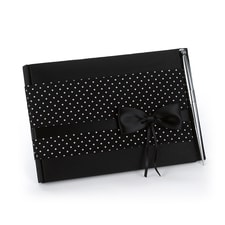 Polka Dot - Guest Book and Pen Set