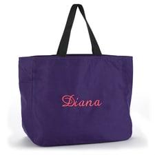 Custom Tote Bag - Purple