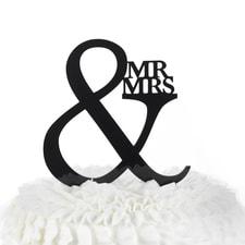Mr. & Mrs. - Cake Pick