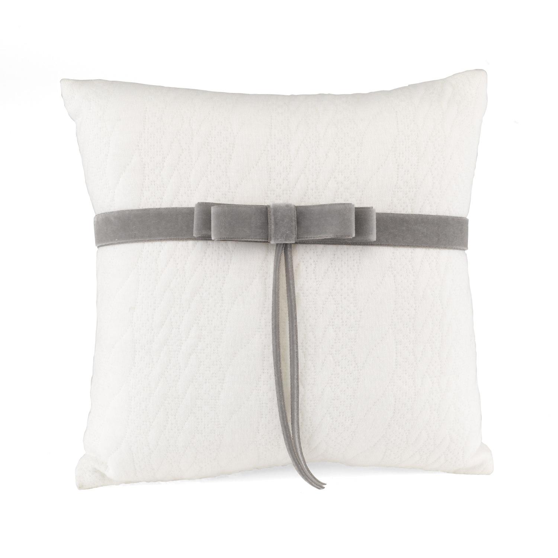 wedding rose ring paraphernalia taupe pillow pillows