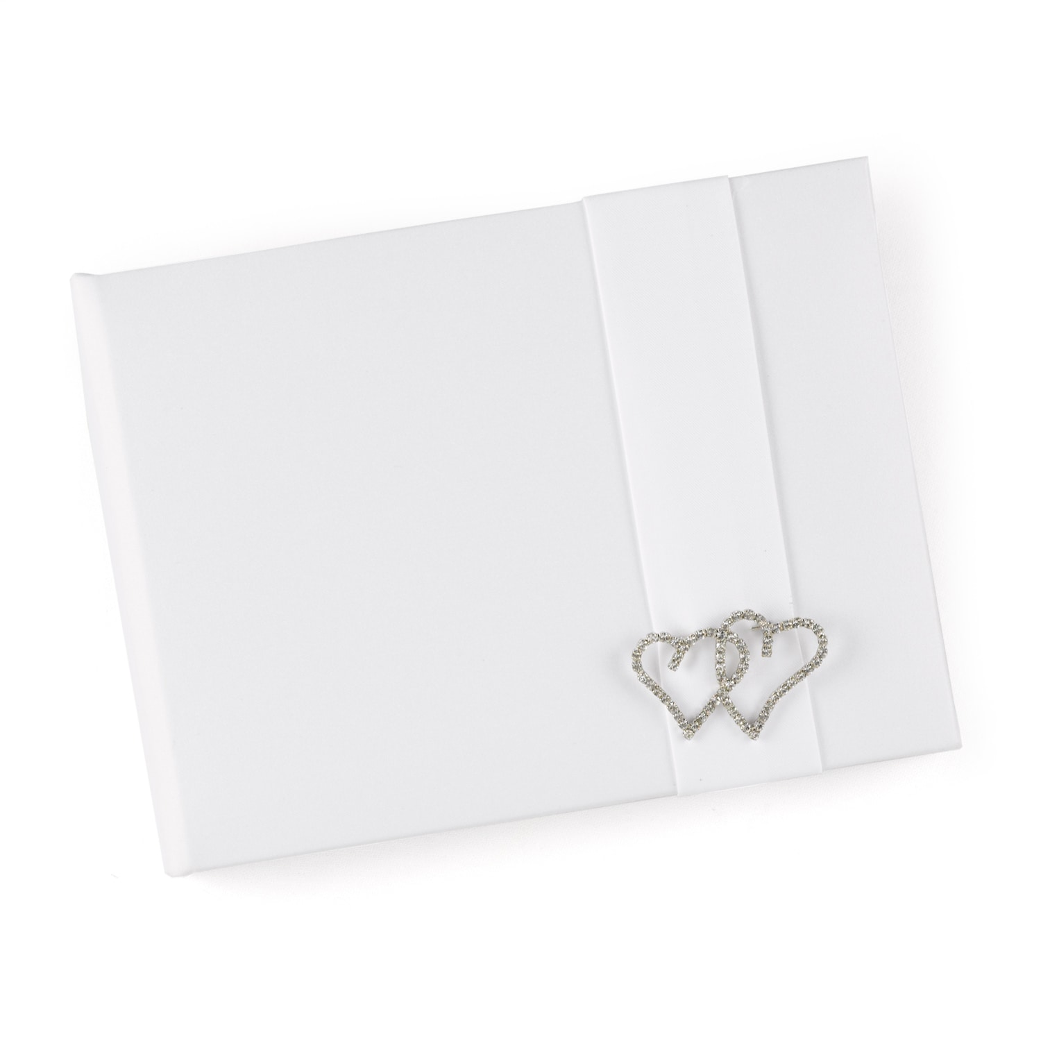 With All My Heart - Guest Book - White